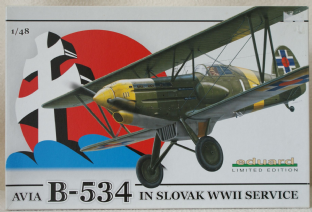 Eduard 1/48 1146 AVIA B.534 in Slovak WW2 Service Ltd Edition